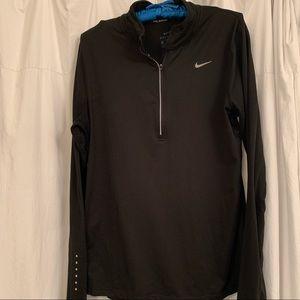 Nike running Dri Fit half zip